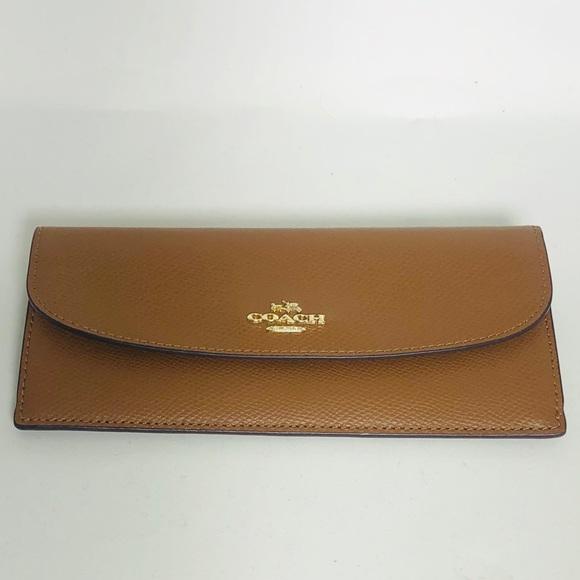 Coach Handbags - SOFT WALLET IN CROSSGRAIN LEATHER